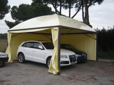 Coperture per auto gazebo a roma produzione e vendita for Gazebo per auto usato