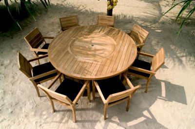 Tavolo teak tondo faro mobili da giardino a roma produzione e vendita tavolo teak tondo faro - Vendita mobili da giardino roma ...