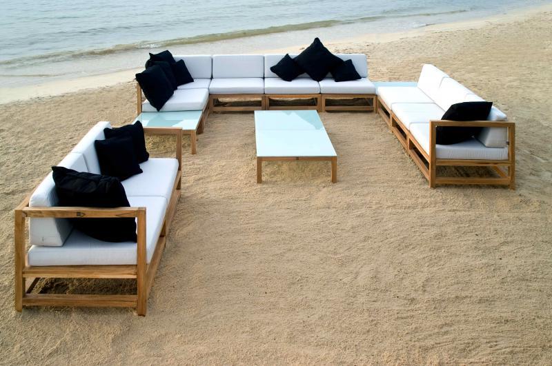 divano in teak - mobili da giardino a roma   produzione e vendita