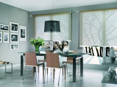 Tende a rullo decorative tende da interni a roma - Tende interni prato ...
