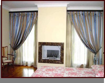 Classiche ed eleganti tende da interni a roma for Tende da interni classiche