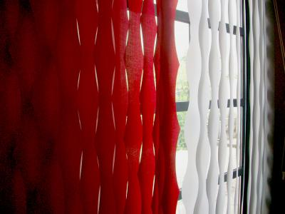 Tende verticali ad onde tende da interni a roma - Tende interni prato ...